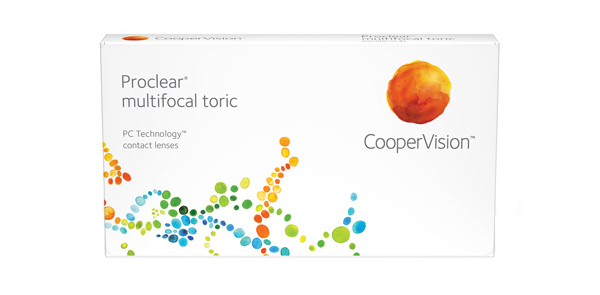 Proclear multifocal toric 6 Pack - Distance
