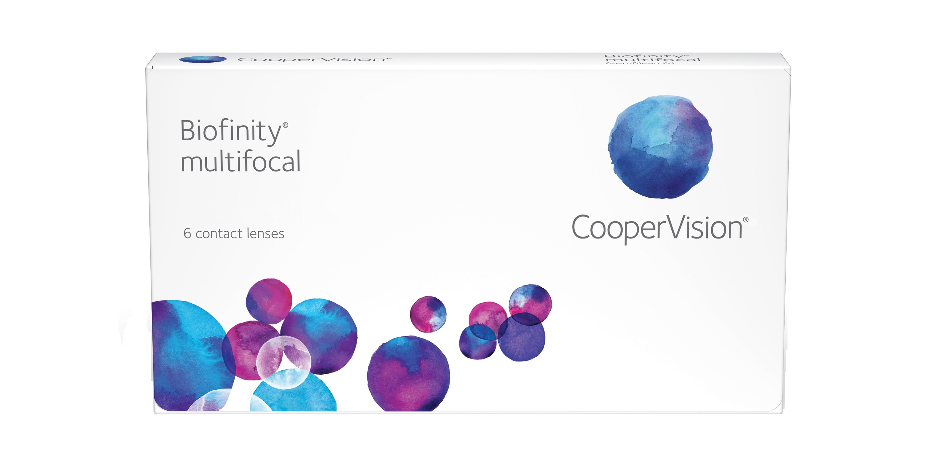 Biofinity multifocal 6 Pack - Distance