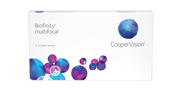 Biofinity multifocal 6 Pack - Near