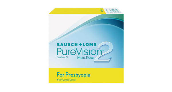 Purevision 2 For Presbyopia 6 Pack - Low Add