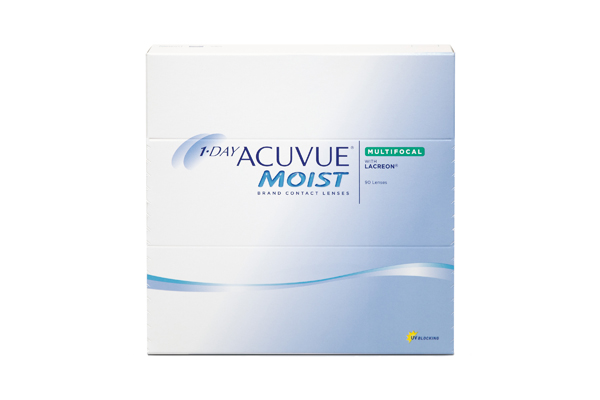 1-DAY ACUVUE MOIST MULTIFOCAL 90 Pack - Medium Add