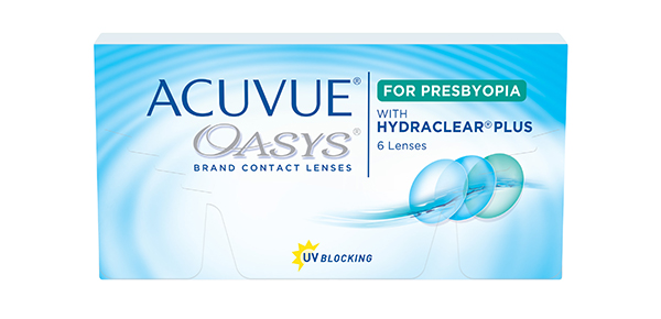 ACUVUE OASYS FOR PRESBYOPIA 6 Pack - Low Add