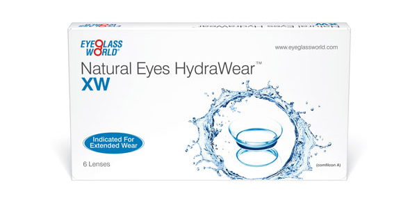 Natural Eyes HydraWear XW 6 Pack