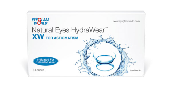 Natural Eyes HydraWear XW Toric 6 Pack