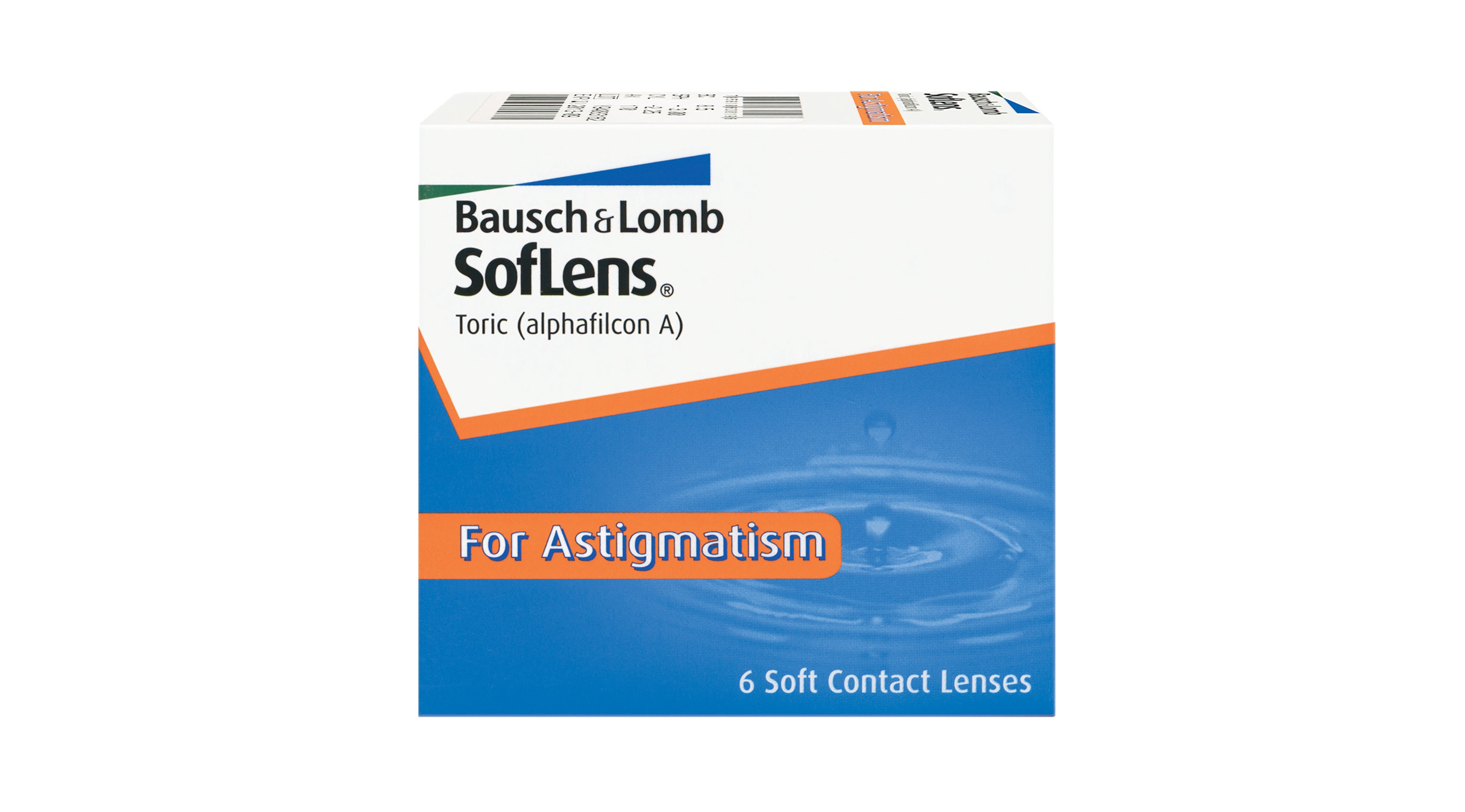 SofLens Toric For Astigmatism 6 Pack