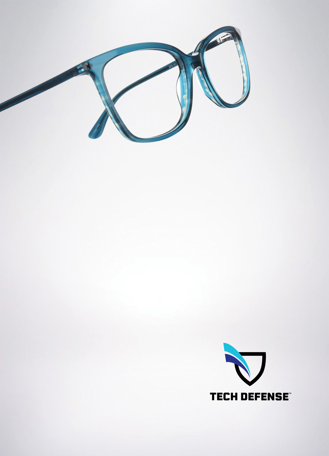 Glasses with TechDefense™ lenses