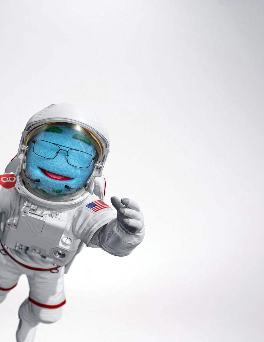 Mr. World spacesuit