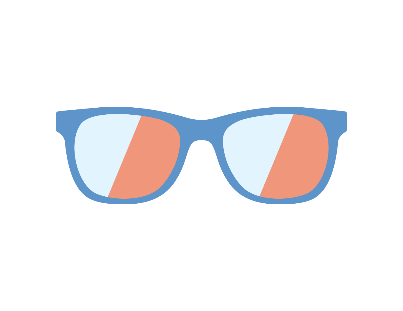 Icon of glasses with Transitions lenses