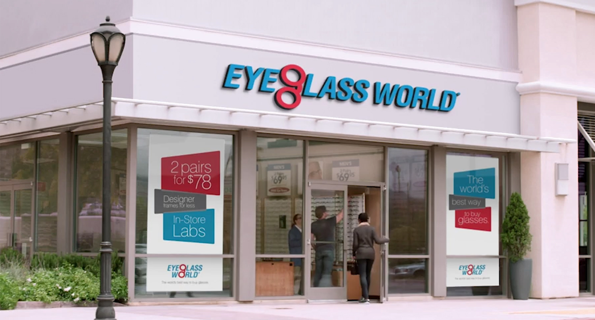 Eyeglass World store